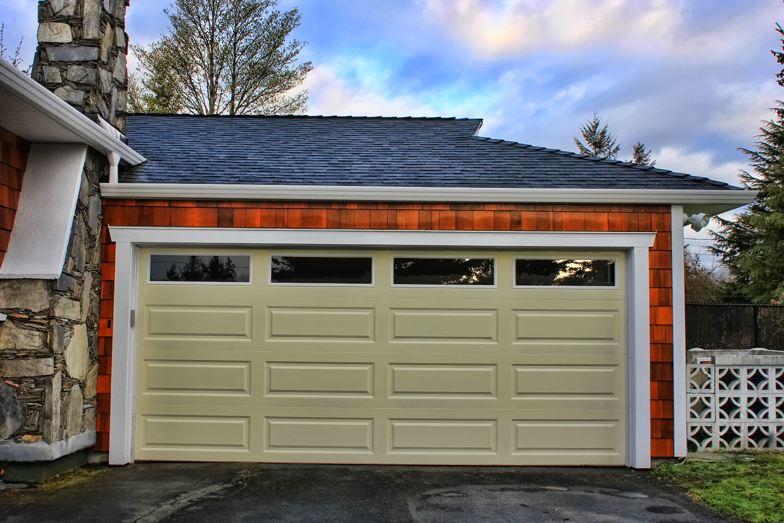 After Garage Door